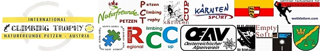 Logo <b>PETZEN  CLIMBING  TROPHY</b> 2011 - Speed